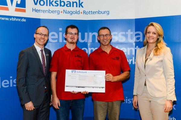 SpendenAdvent 2019 der Volksbank Herrenberg-Nagold-Rottenburg-Stiftung